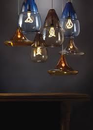 hand blown glass pendant lighting. Hand-Blown, Transparent Glass Pendant Lights Hand Blown Lighting H