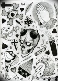 черно белые тату эскизы коллекция рисунков для тату информация