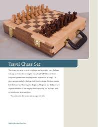 Making Wooden Games Making Wooden Chess Sets 100 OneofaKind Designs for the Scroll 28