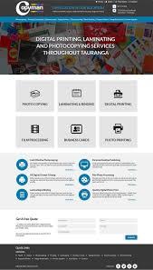Print Web Design Modern Serious Printing Web Design For Web Genius By