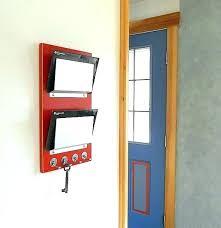 hanging mail sorter hanging mail organizer wall mail organizer wall mail holder minimal mail organizer with
