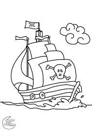 Coloriage Pirate Colorier Dessin Imprimer Plastique Dingue