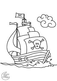 Coloriage Pirate Colorier Dessin Imprimer Anniversaire