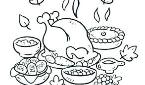 Happy Thanksgiving Turkey Coloring Pages Printable Free Adult Best