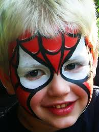 spiderman face paint spiderman painting charming faces baltimore