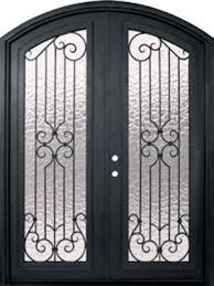 double white door texture. Milano Full Lite Arch Top Double Wrought Iron Door 8\u0027 0\ White Texture D