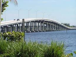 The Cape Coral Bridge Over The Caloosahatchee River From Ft