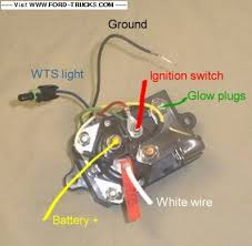 glow plug relay wiring diagram images diesel idi glow ford f 250 starter wiring diagram photos for help