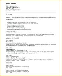 Resume Objective For Graphic Designer graphic designer resume objective markpooleartist 24