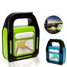 Đèn pin sạc xách tay siêu sáng 4 in 1 - có thể sạc bằng điện hoặc
