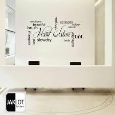 23 hair salon wall decor beauty skin deep salon hair e wall sticker art home mcnettimages com