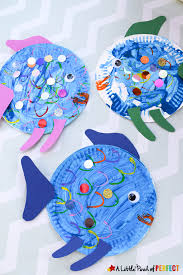 paper plate fish craft an easy painting craft idea for kids using toilet paper rolls
