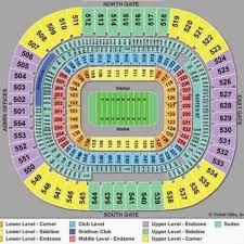Tom Benson Hall Of Fame Stadium Seating Chart At T Hall Of Fame