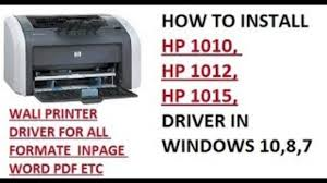 This driver package is available for 32 and 64 bit pcs. How To Download And Install Hp 1010 1012 1015 Driver Win 7 8 8 1 10 For All Windows Youtube