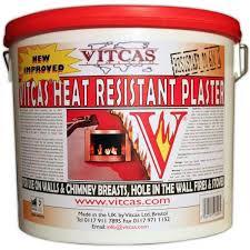 vitcas heat resistant plaster