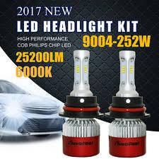 buick skylark led lights 2x 9004 hb1 white philips 252w 25200lm led headlight kit high low beam lamp bulb fits buick skylark