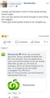 Woman Finds A Metal Needle Inside Her Woolworths Sweet