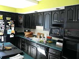 painted kitchen cabinets with black appliances. Black Kitchen Cabinet Paint Painting Cabinets . Painted With Appliances E