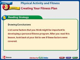 A Fitness Plan Physical Activity And Fitness Ppt Video Online Download