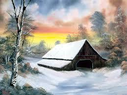 11 bob ross paintings