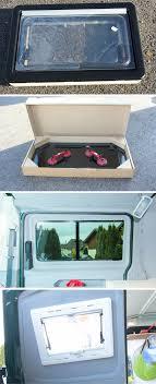 Vw T5 Busausbau Die Fenster Einbauen Van Living Camper Truck