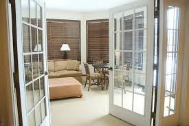delightful french door bedroom french door blinds bedroom traditional with crown molding foot of
