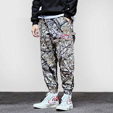 Realtree Camouflage Baggy Hip Hop Pant Streetwear Mens Trousers Jogger Casual Pant Harajuku Loose Harem Pant 2018 Spring Summer Uk 2019 From