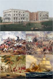 writing wings war of 1812 montage war of 1812