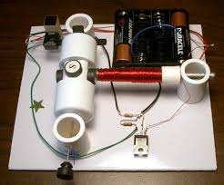 simple electric motor with switch. Motor With Optical Control Simple Electric Switch I