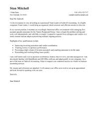 Creating A Cover Letter For A Resume Best Management Team Lead Cover Letter Examples LiveCareer 11