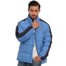 fila puffer jacket. orange fila puffer jacket c