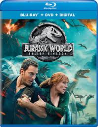 Jurassic World Fallen Kingdom (2018) HDRip 720p 800MB Line [Hindi – English] Esub MKV