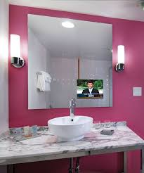 tv in bathroom. loft bathroom mirror tv at the flamingo las vegas tv in o