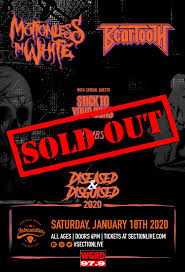 <b>Motionless In White</b> + Beartooth – Diseased & Disguised Tour - Jan ...