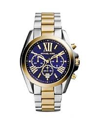 michael kors mens watches bloomingdale s michael kors bradshaw two tone watch 43mm bloomingdale s 0
