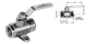 ball valve shut off. apollo fuel shut-off valves - ball type bronze valve shut off o