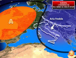 EUROPA » irruzione INVERNALE, la stagione fredda entra nel ...