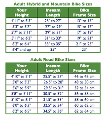 complete bike frame size guide bike