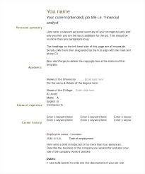 Resume Blank Template Gorgeous Editable Resume Templates Free Editable Resume Template Aided With