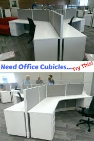 New AIS Office Cubicles installed in Kansas City. The office cubicles have  a 120 degree connectors. They are modern with a warm gray and bright white  work ...