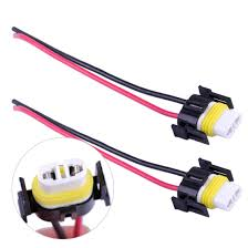 Bmw Fog Light Connector H11 H8 880 881 Wiring Harness Socket Female Adapter Wire Connector Cable Plug For Hid Xenon Headlight Fog Lights Lamp