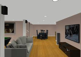 Design Ideas For Basement Remodeling With Game Room And Kitchen Interesting Basement Remodeling Designs Ideas Property