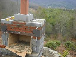 diy outdoor fireplace plans sherizampelli landscape simple for simple building an outdoor fireplace
