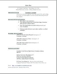 Veterinary Resume Inspiration Veterinary Technician Resume Vet Tech Resume Skills Sample Resumes