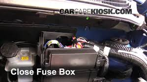 replace a fuse 2014 2016 nissan versa note 2015 nissan versa 6 replace cover secure the cover and test component