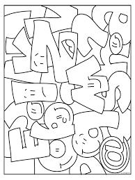 Kleurplaat Letters Kleurplatennl