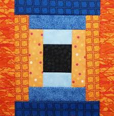 Log Cabin Quilt Pattern 12 Inch Block Extraordinary How To Make Courthouse Steps Log Cabin Quilt Block Quilts By Jen