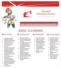 Basic Flyer Template Cleaning Service Flyer Template House Cleaning Flyer