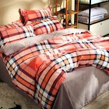 full size of modern plaid fleece duvet cover set for winter solid color flannel bedspread coverlet