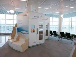 office sleep pods. Napcabs, A German-based Sleep Pod Company That Operates At The Munich  Airport. Office Pods F